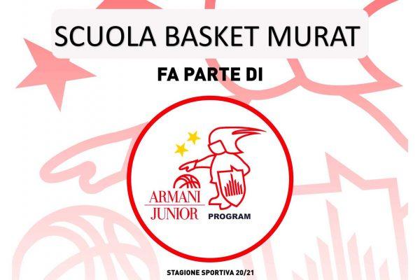 SBM affiliazione Armani Junior Camp